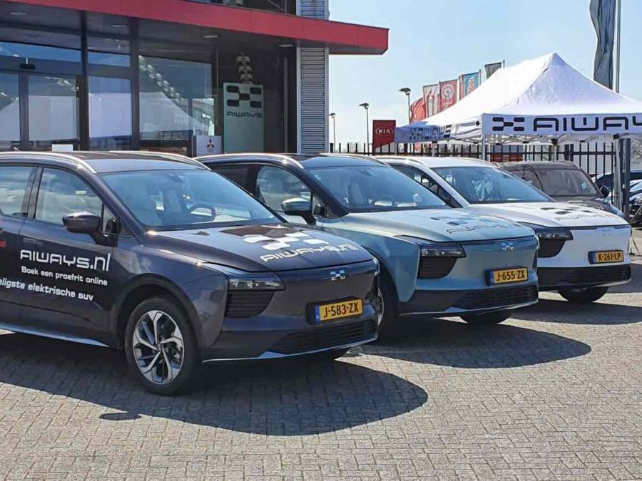 Aiways on tour: Nederland wordt elektrisch